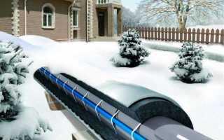 Провод для нагрева водопровода