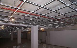 Виды подвесного потолка армстронг