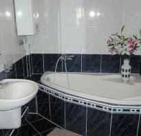 Быстрый ремонт в ванной комнате