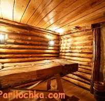 Интерьер русской бани внутри фото