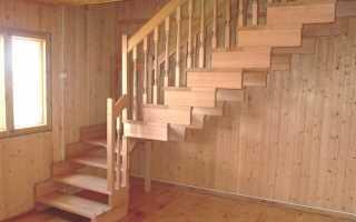 Размер межэтажной лестницы в частном доме