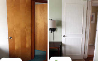 Как восстановить старую дверь