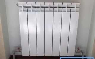 Схема подключения биметаллических радиаторов отопления