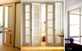 Раздвижные двери варианты
