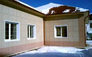 Отделка швов вентилируемых фасадов