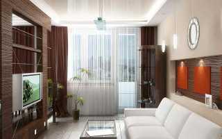 Дизайн штор для окна с балконом