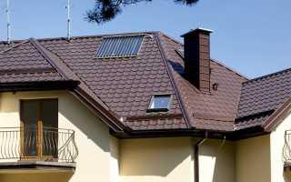 Крыши с металлочерепицы фото