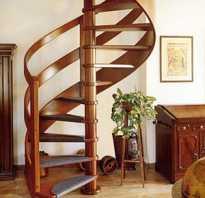 Размер винтовой лестницы в частном доме