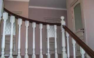 Размеры перил для лестниц