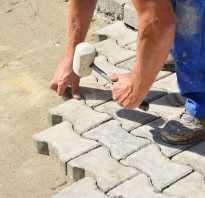Как выложить тротуарную плитку своими руками