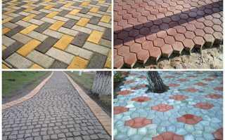 Укладка тротуарной плитки самостоятельно технология процесса