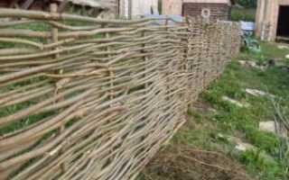 Самодельный забор для дачи