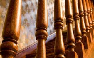 Размер балясины для лестниц