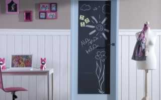 Рисунки на дверях