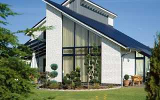 Варианты односкатных крыш для дома