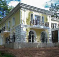 Декоративная отделка фасадов