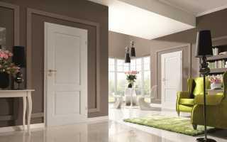 Светлый пол какие двери