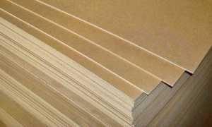 Виды листовых материалов