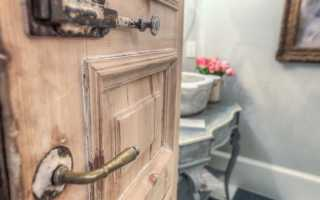 Как восстановить дверь
