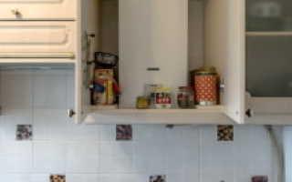Дизайн кухни хрущевки с газовой плитой