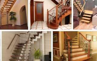Разновидность лестниц в частном доме