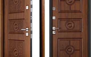 Высота металлической двери