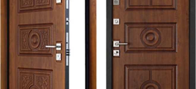 Высота металлических дверей