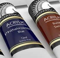 Акриловые лакокрасочные материалы