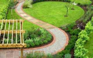 Из чего сделать дорожки в саду дешево