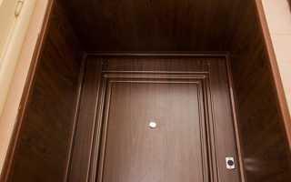 Обшивка дверных откосов