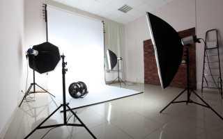 Белая стена для фотосессии