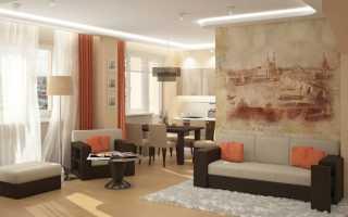 Планировка 2 комнатной квартиры