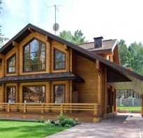 Дом из дерева фото