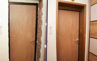Откосы дверного проема входной двери