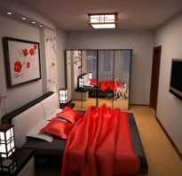 Спальня 14 кв м ремонт