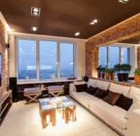 Потолок стиль лофт
