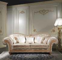 Классические диваны для гостиной