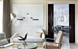 Оформление потолка в гостиной фото