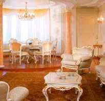 Зал в классическом стиле
