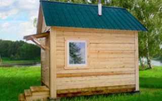 Как правильно построить баню на даче