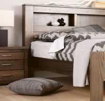 Высота кровати стандарт