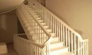 Расстояние между балясинами лестницы в частном доме