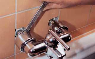 Установить смеситель в ванной самостоятельно