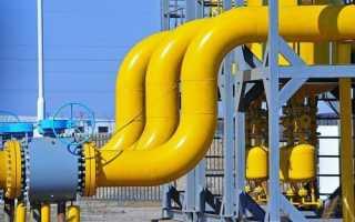 Диаметры труб стальных газопроводов