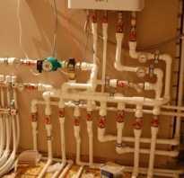Схема отопления от котла в частном доме