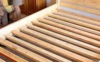 Собрать кровать самостоятельно