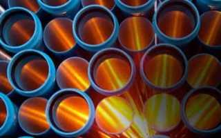Пэ трубы для водопровода диаметры