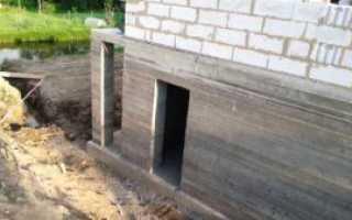Строительство цокольного этажа пошагово