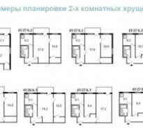 Варианты ремонта 2 х комнатной хрущевки