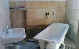 Виды ремонта ванной комнаты